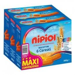 Nipiol Biscottini 6 Cereali...