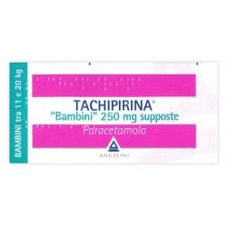 Angelini Tachipirina Bambini Febbre e Dolore 10 Supposte 250 mg