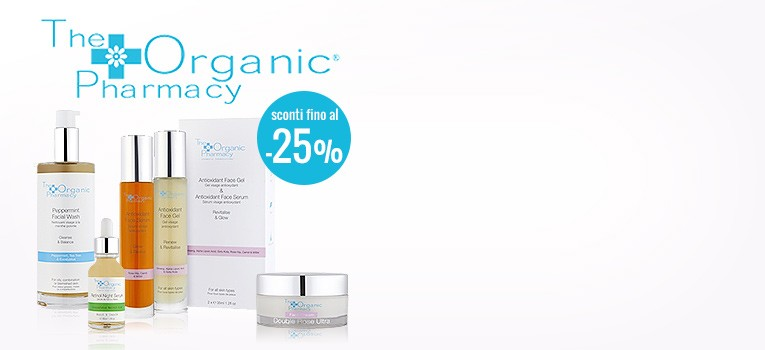 -25% The Organic Pharmacy